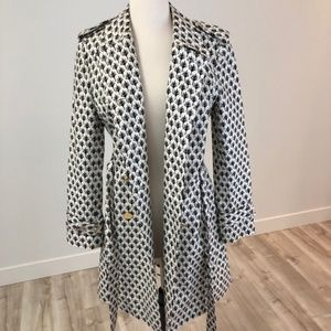NWOT Tory Burch Military Trench Coat sz 4
